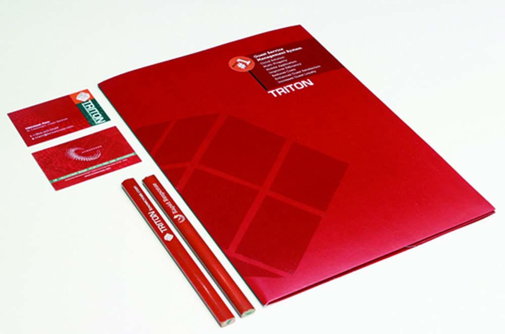 >Docket Folder and Business Cards