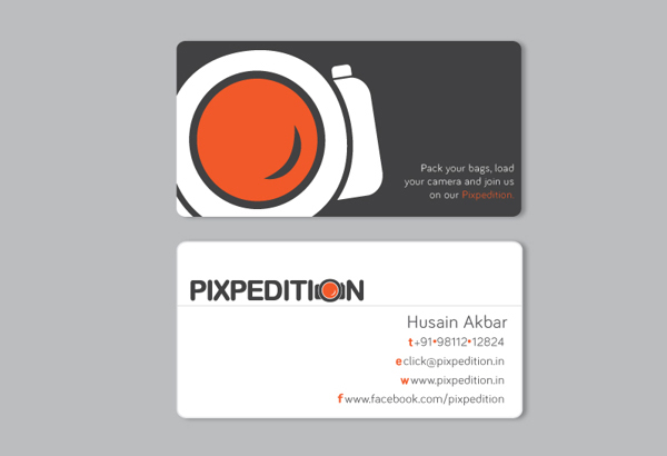 Pixpedition – business card