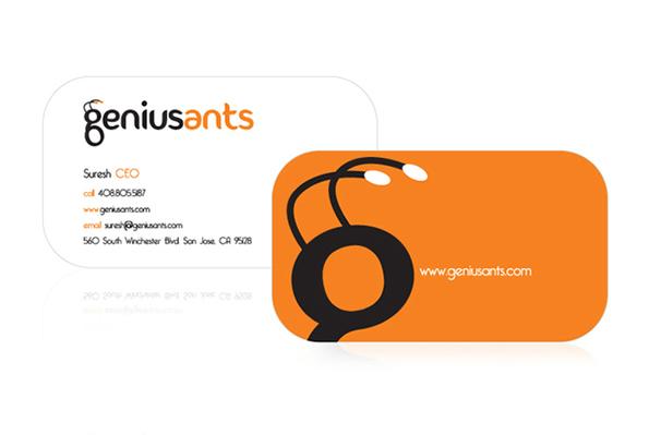 Genius Ants - business card