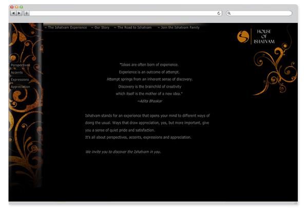 Ishatvam - website design-2