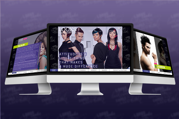Website Design - Looks Unisex Salon-2