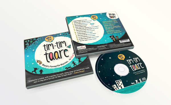 Tim Tim Taare Front cover, Back cover and the CD