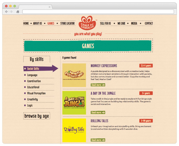 Chalk & Chuckles - website design-3