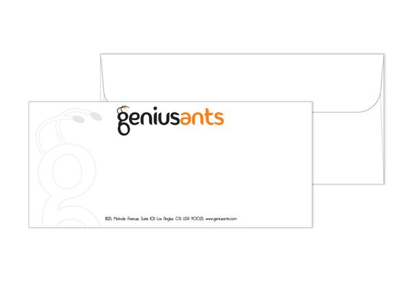 Genius Ants - envelope