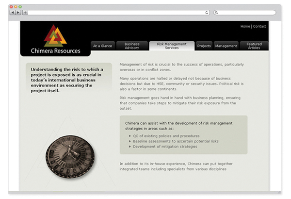 Chimera Resources website-3
