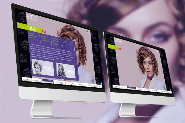 Website Design - Looks Unisex Salon-3