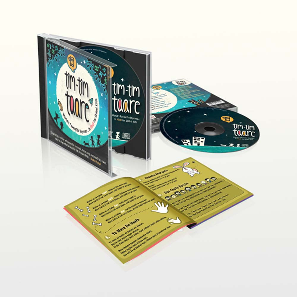Tim Tim Taare lyrics booklet