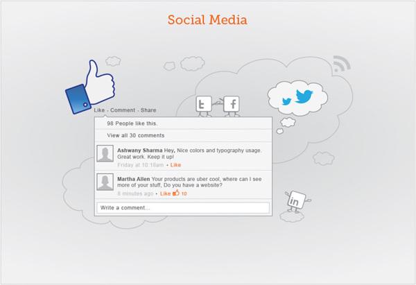 Genius Ants - social media