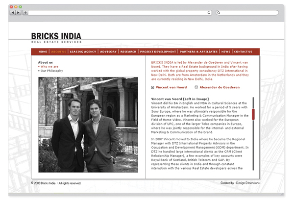 Bricks India - website design-3