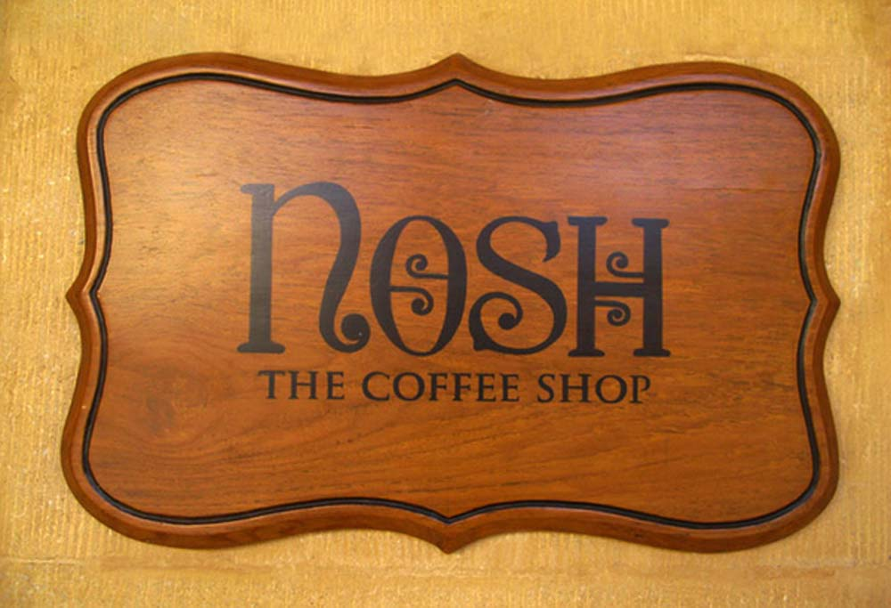 Wooden Sign Boards (the coffee shop)