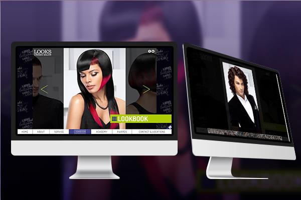Website Design - Looks Unisex Salon-6
