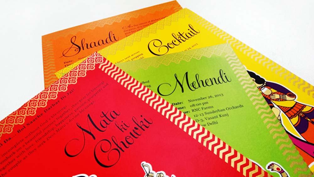 Madhubani Art Inspired Wedding Invite-6