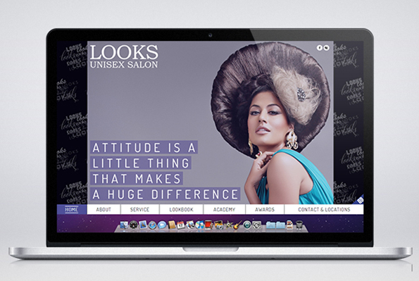 Website Design - Looks Unisex Salon-7