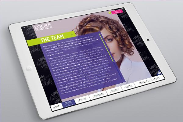Website Design - Looks Salon-9