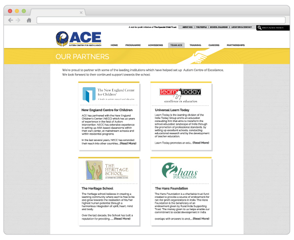 ACE Website