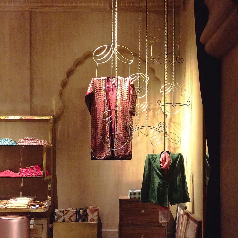 Misri – The shop - moustaches as hangers-1