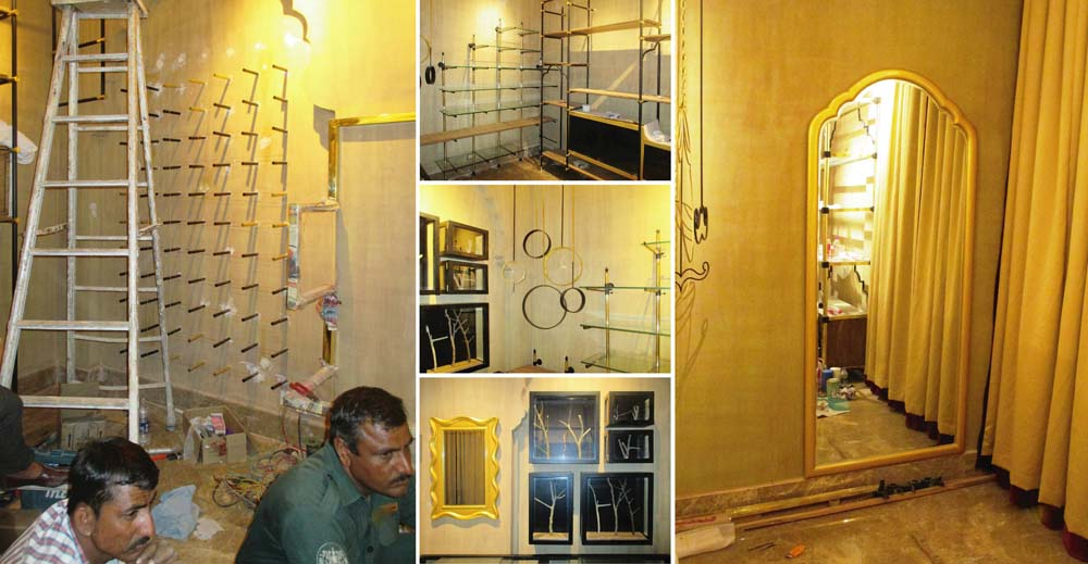 Misri – The shop - Rajasthani space design