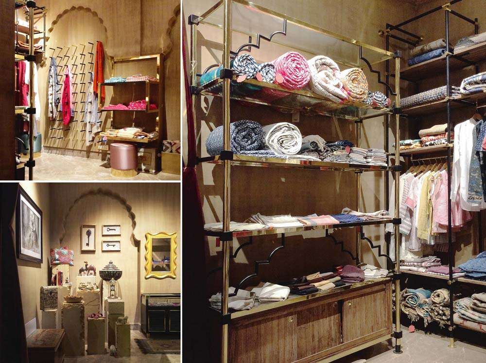 Misri – The shop - build