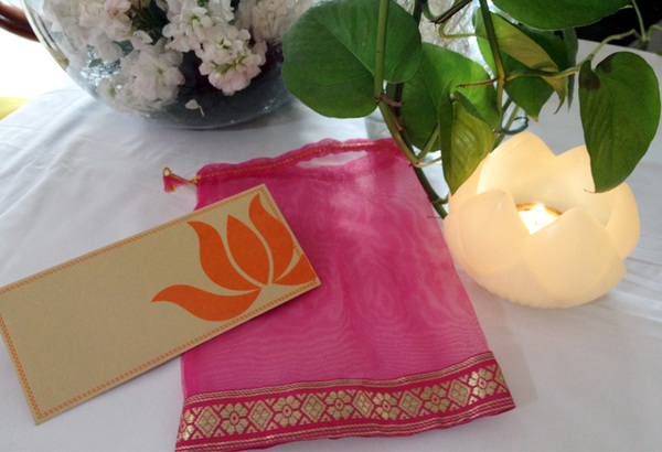 Lotus Wedding Invite card-1