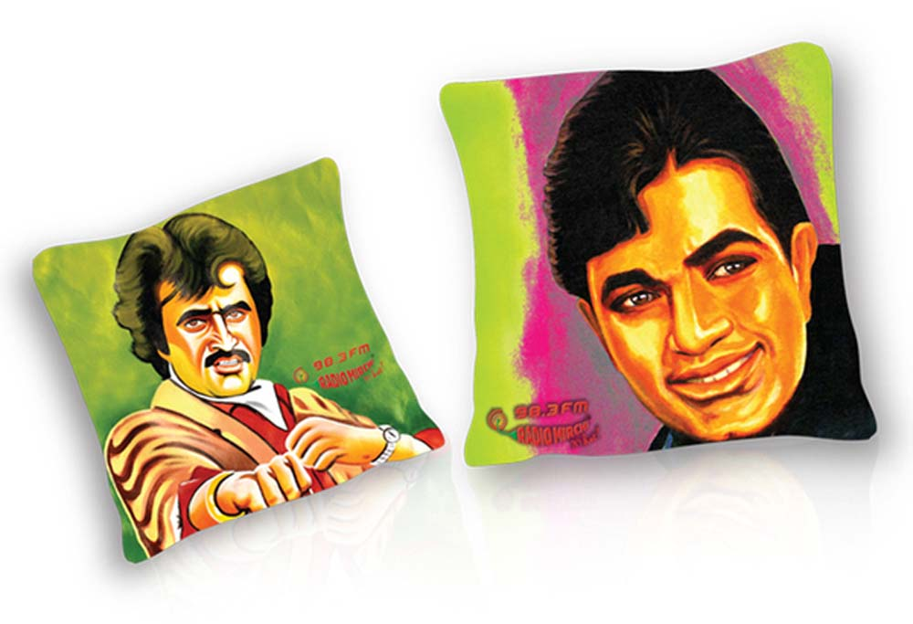 Radio Mirchi bollywood pop art cushions-3