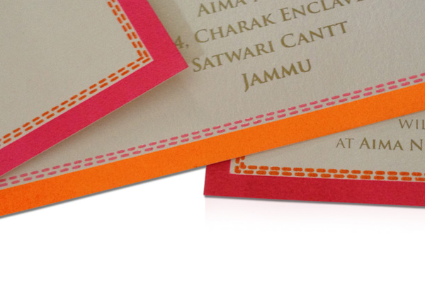 Lotus Wedding Invite card-4