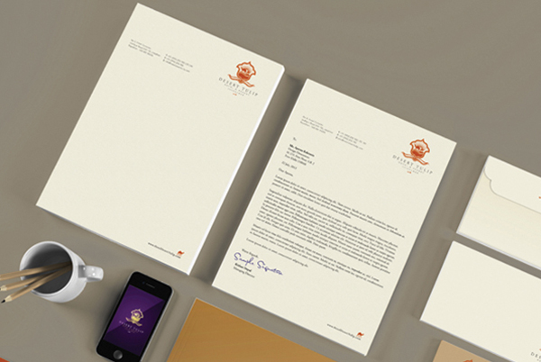 Letterheads and other collateral